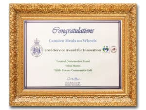 meals on wheels-innovation-award