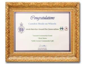 meals on wheels-innovation-award