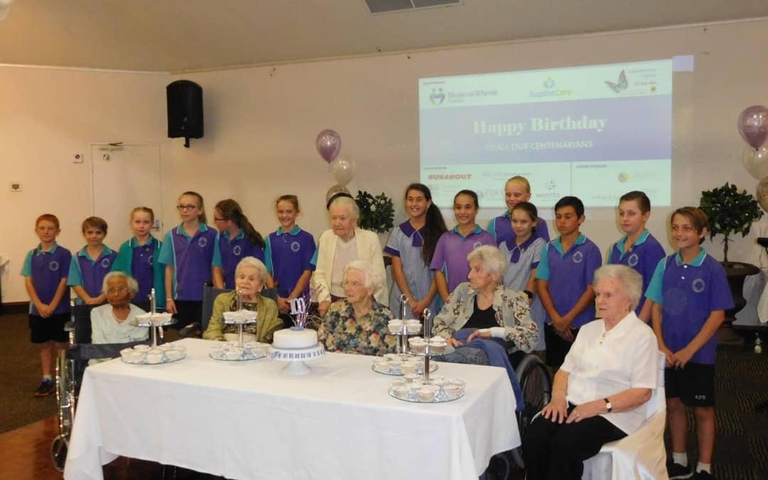 Centenarian Luncheon a Big Celebration
