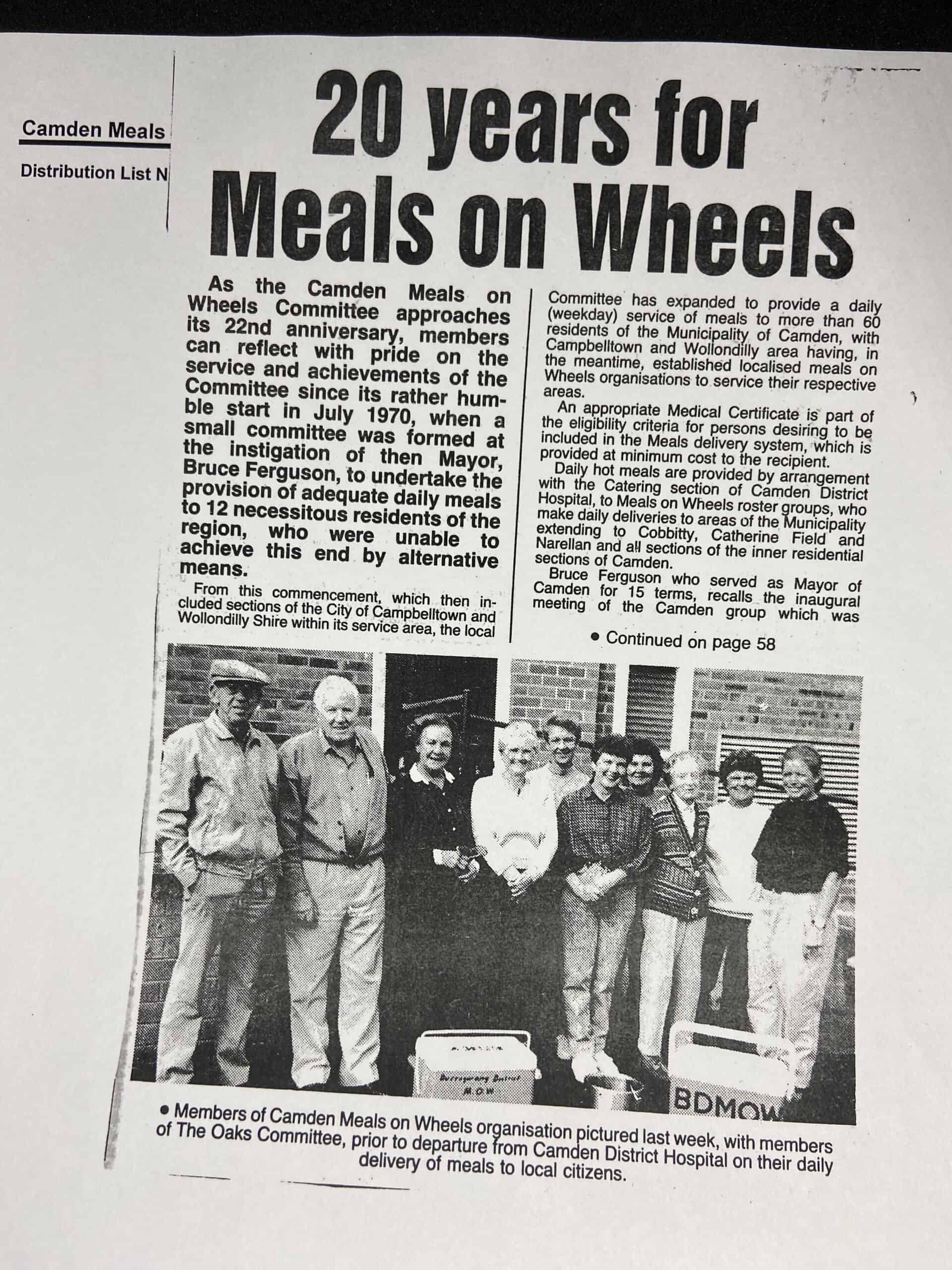 1990 Newspaper History