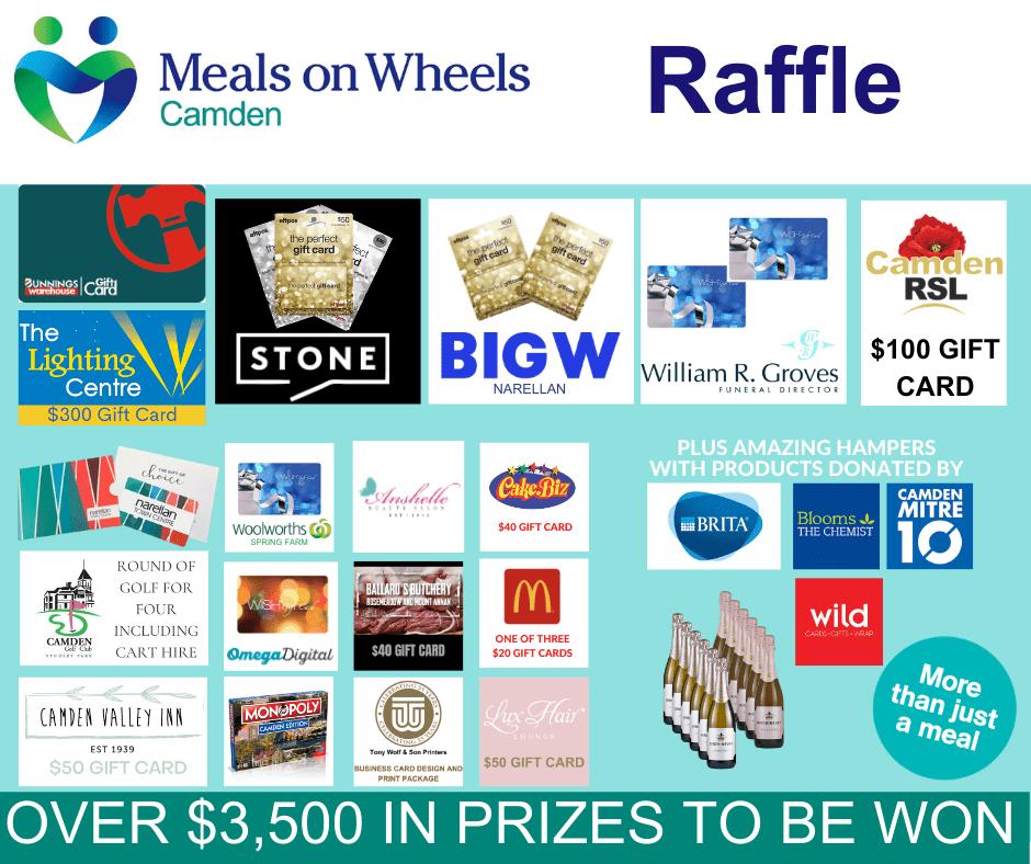 Raffle Prize