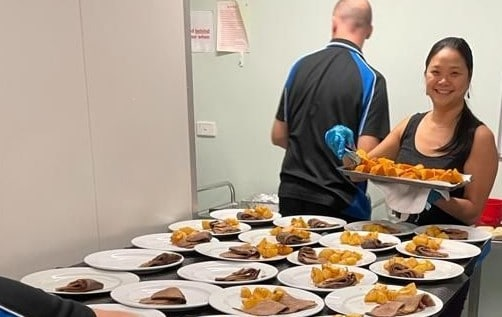 The team from Reckitt share their Meals on Wheels volunteering experience
