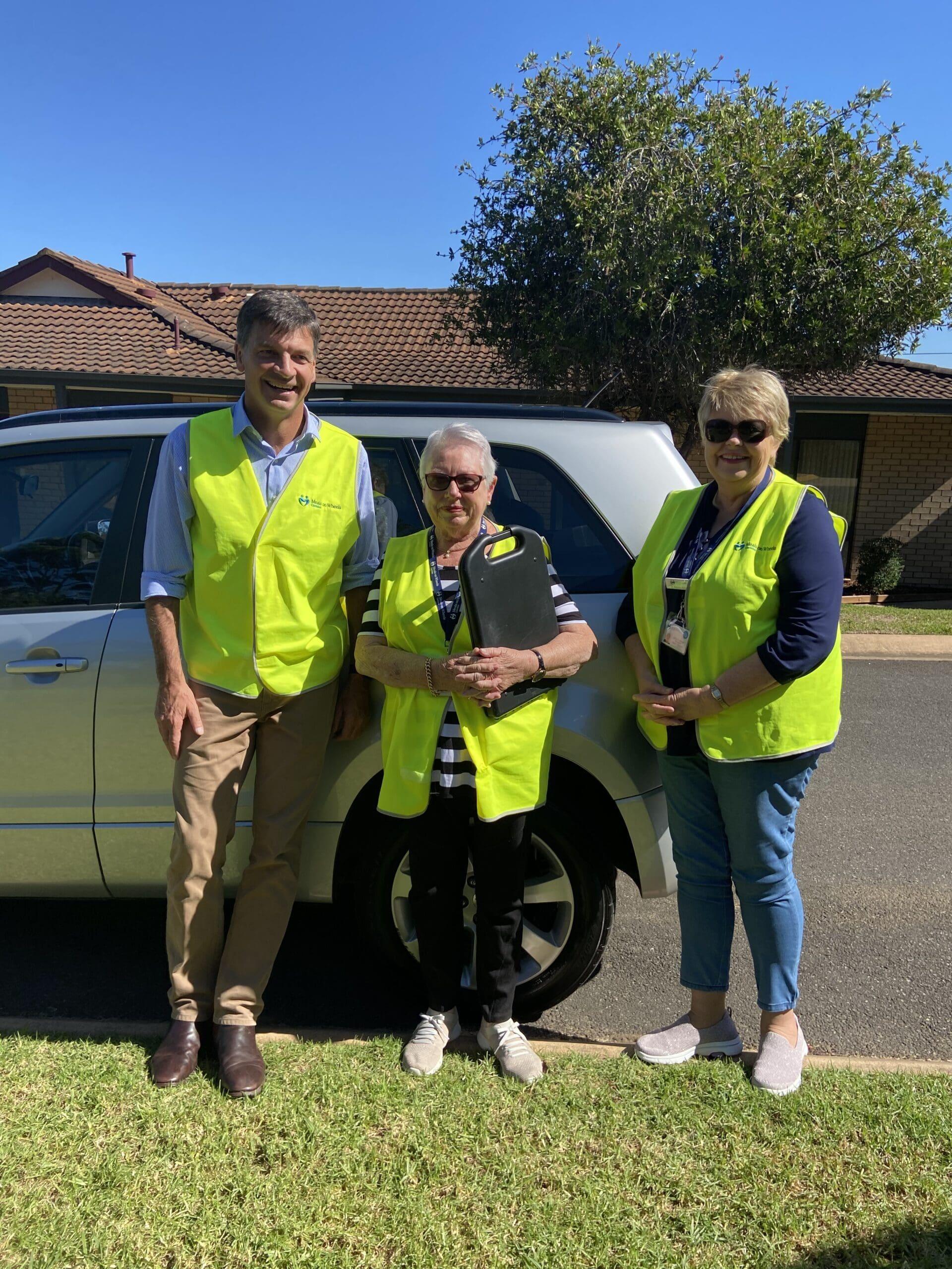 Angus Taylor Volunteers