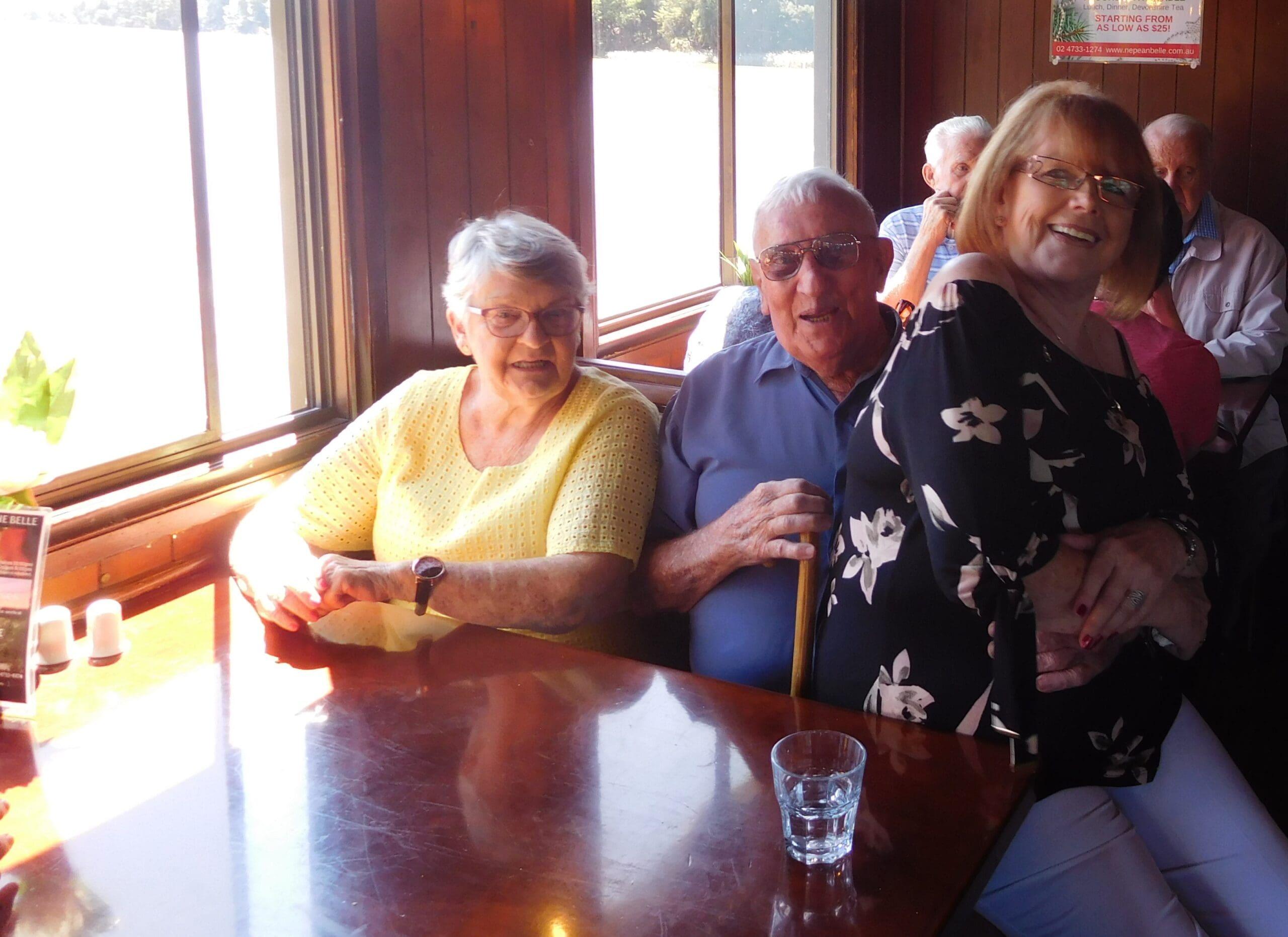 Elderly community outing
